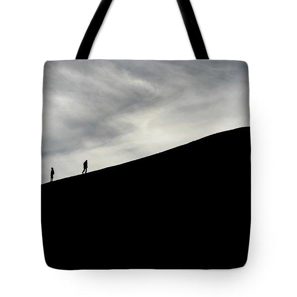 Tote Bag featuring the photograph Make The Climb by Pradeep Raja Prints