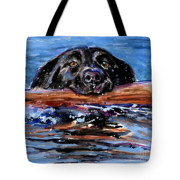 Make Wake Tote Bag by Molly Poole