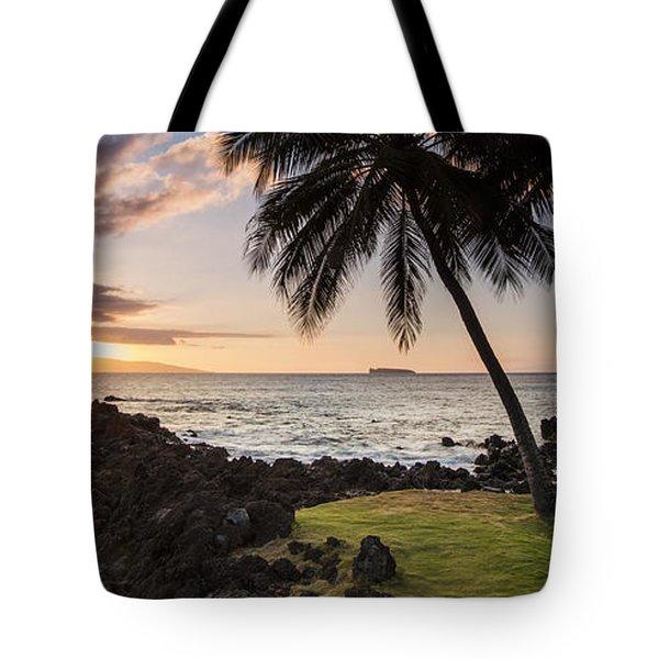 Makena Sunset Maui Hawaii Tote Bag