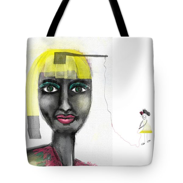 Makeover Tote Bag by Sladjana Lazarevic