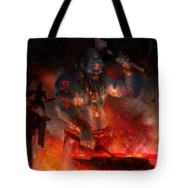 Maker Of The World Tote Bag by Ryan Barger