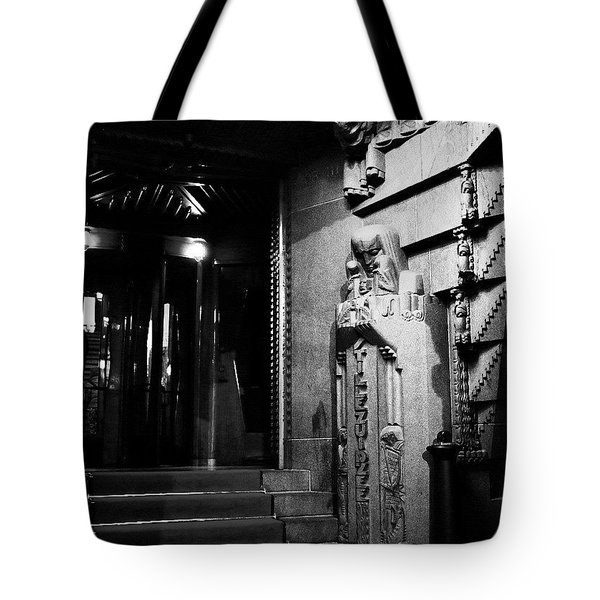 Making An Entrance Tote Bag by Aleck Cartwright