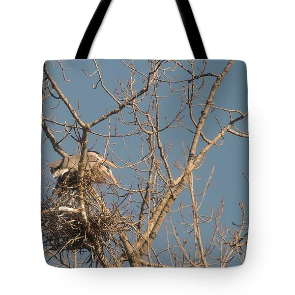 Tote Bag featuring the photograph Making Babies by David Bearden