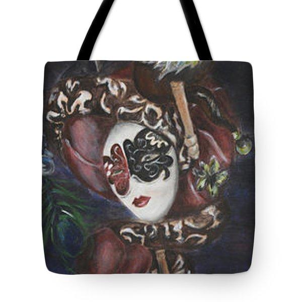 Making Faces Venetian Tote Bag