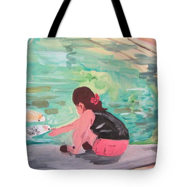 Making Friends Tote Bag