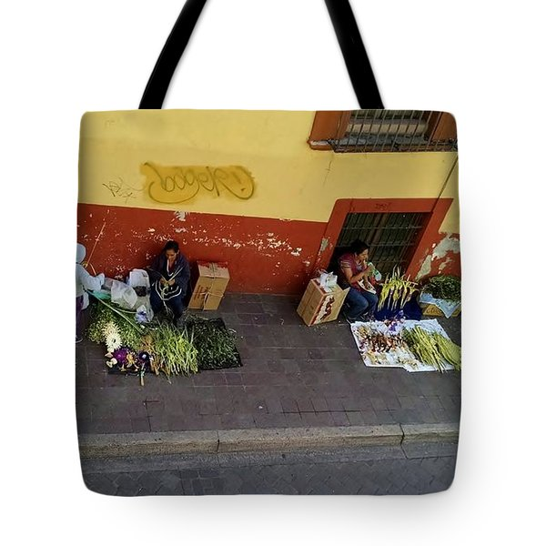 Making Souvenirs On Palm Sunday Tote Bag