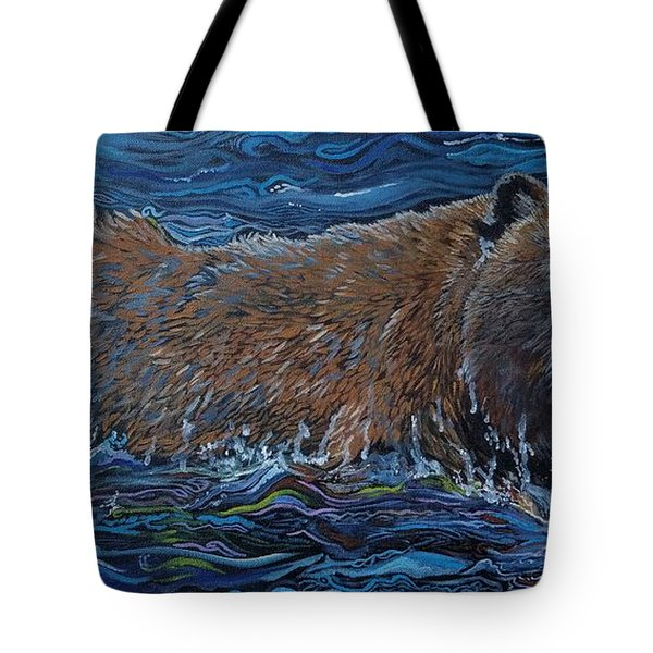 Making Waves Tote Bag