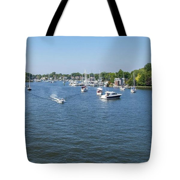 Tote Bag featuring the photograph Making Way by Charles Kraus