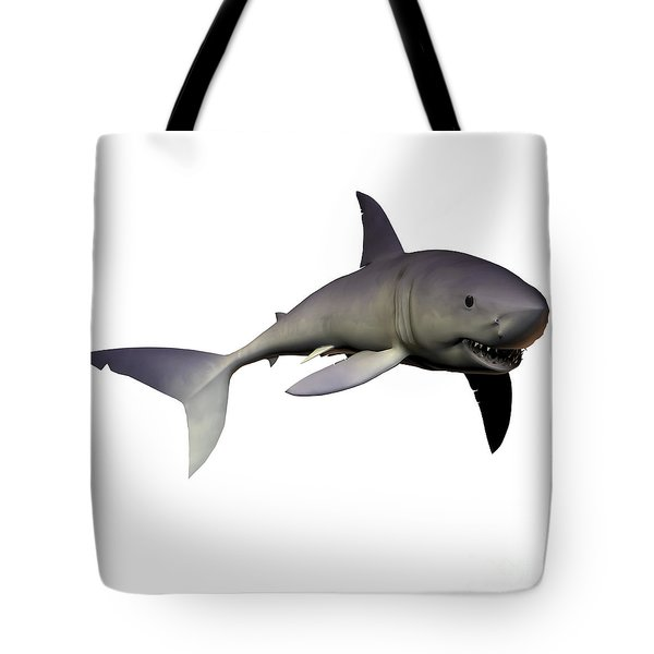 Mako Shark Tote Bag by Corey Ford