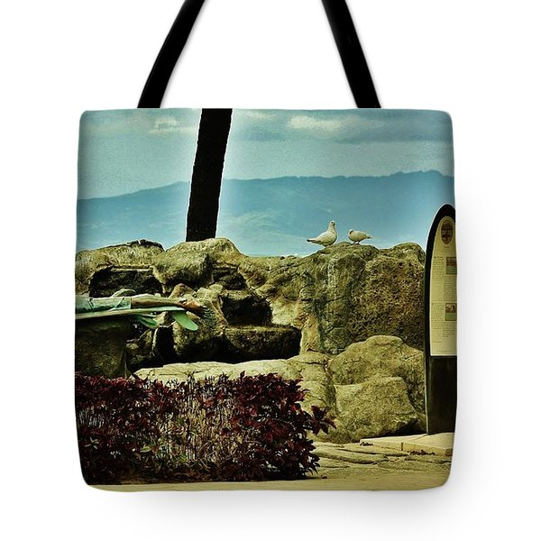 Tote Bag featuring the photograph Makua And Kila by Craig Wood