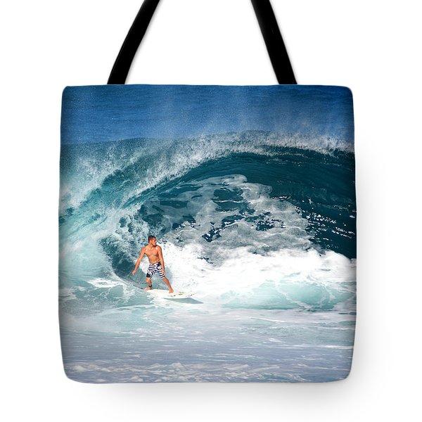Makuakai's Artwalk Tote Bag by Kevin Smith