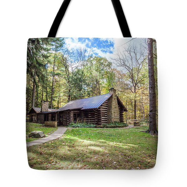 Tote Bag featuring the photograph Malabar Cabin by Lon Dittrick