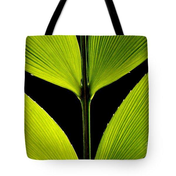 Malachite Flute Tote Bag