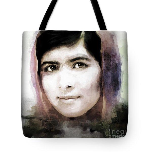 Malala Yousaf Zai 10 Tote Bag