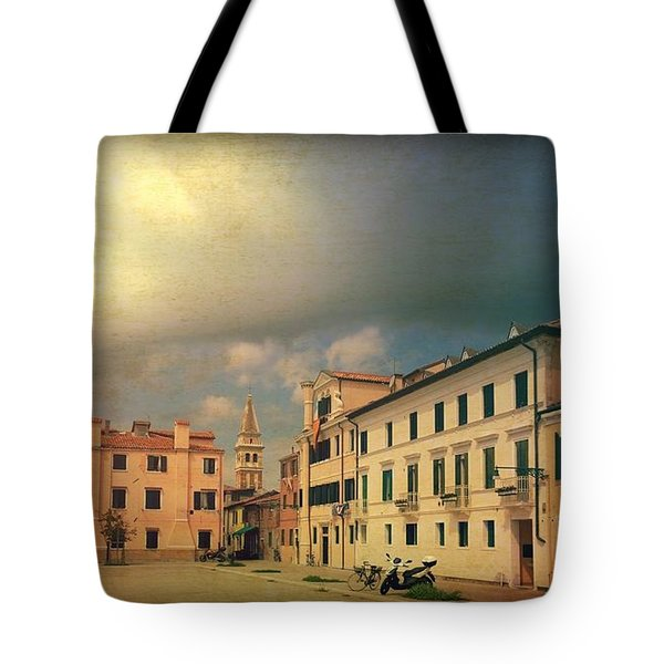Tote Bag featuring the photograph Malamacco Massive Cloud by Anne Kotan