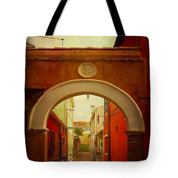 Malamocco Arch No1 Tote Bag by Anne Kotan