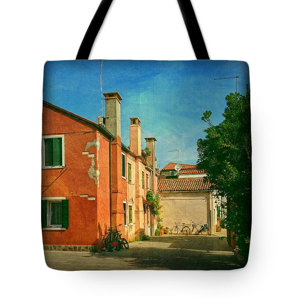 Malamocco Corner No1 Tote Bag by Anne Kotan