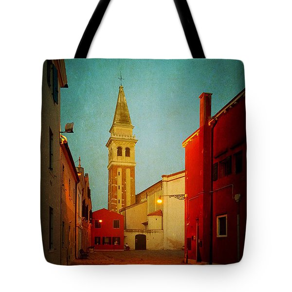 Malamocco Dusk No1 Tote Bag by Anne Kotan
