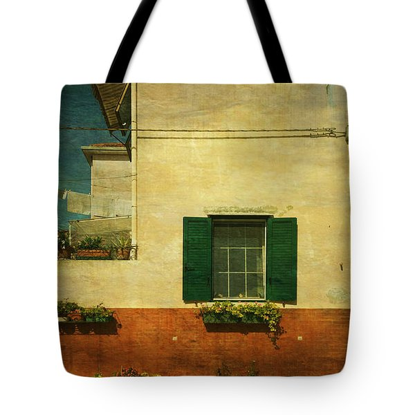 Malamocco Facade No1 Tote Bag by Anne Kotan
