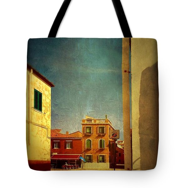 Malamocco Glimpse No1 Tote Bag by Anne Kotan