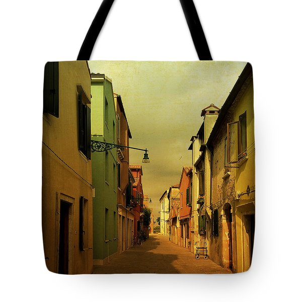Malamocco Perspective No1 Tote Bag by Anne Kotan