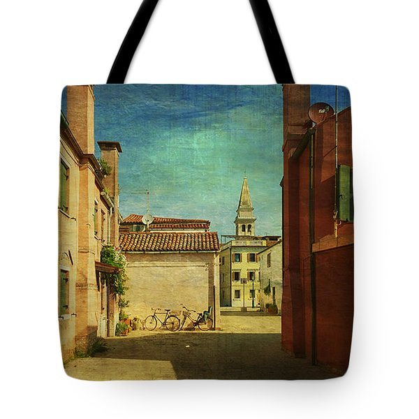 Malamocco Perspective No3 Tote Bag by Anne Kotan