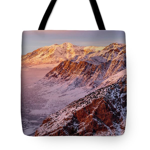 Malan's Sunset Tote Bag