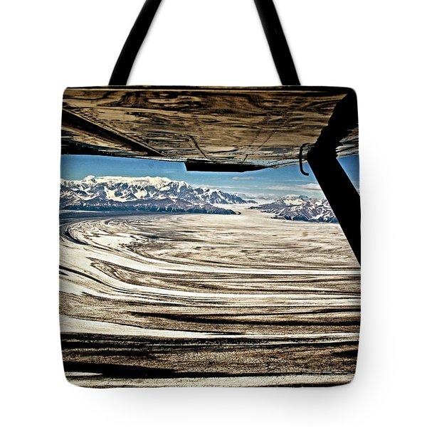 Malaspina Glacier Alaska Tote Bag