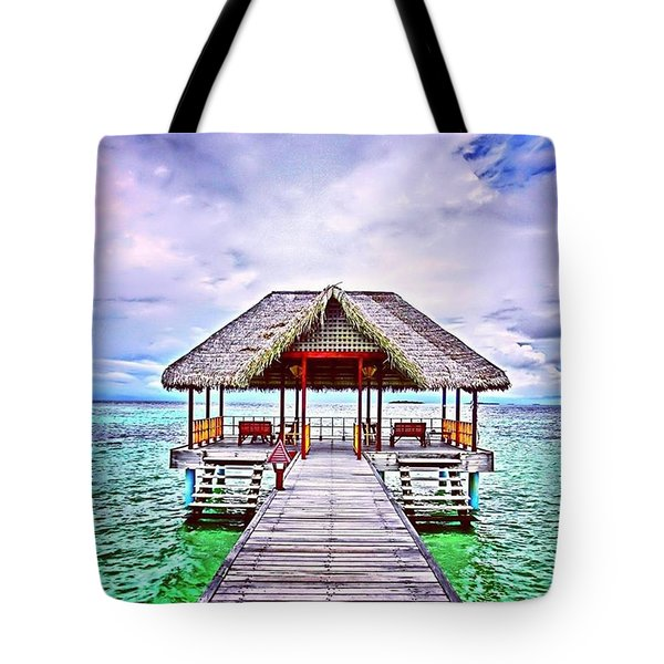 Paradise Tote Bag by Cigdem Goekcell