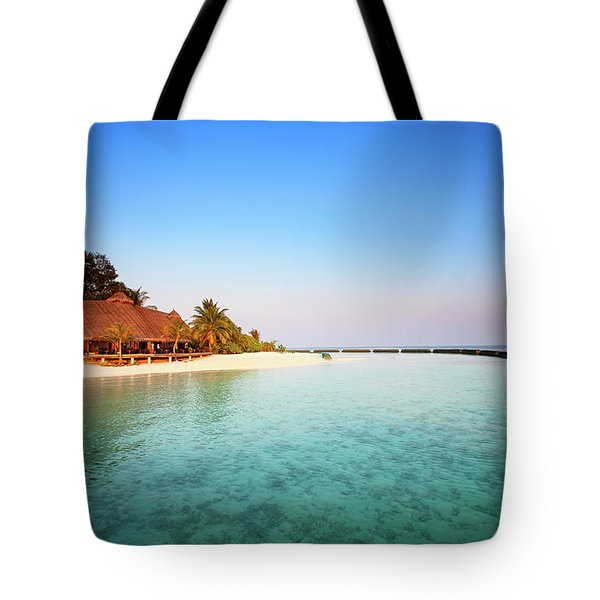 Maldives Morning Tote Bag