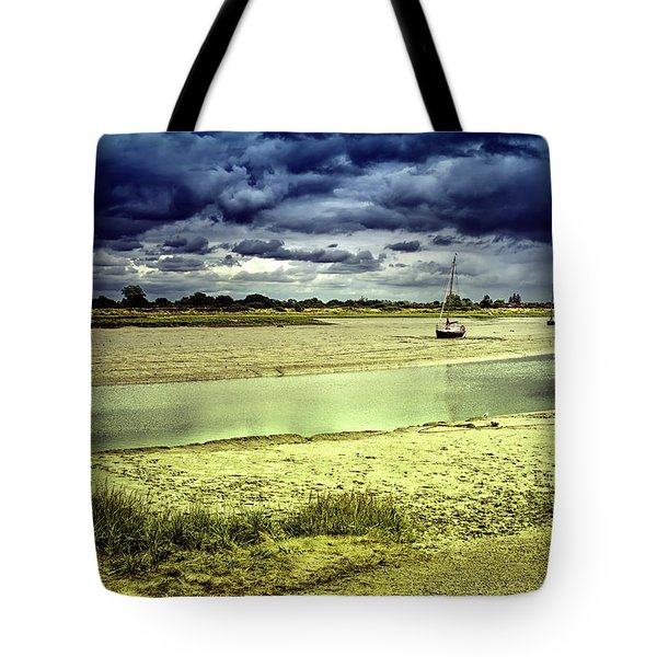 Maldon Estuary Towards The Sea Tote Bag