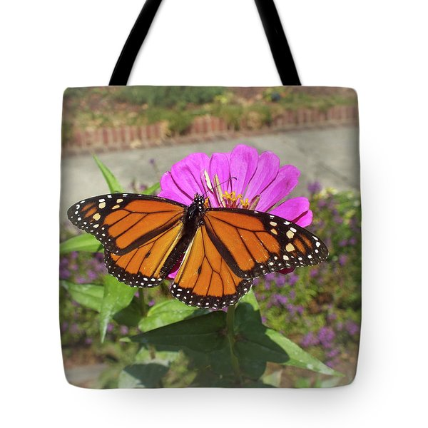 Male Monarch  Tote Bag