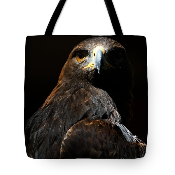 Maleficent Golden Eagle Tote Bag