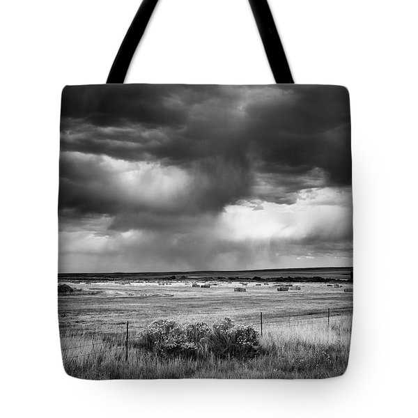 Malheur Storms Clouds Tote Bag