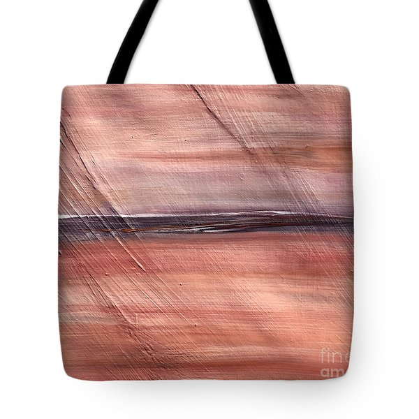 Malibu #32 Seascape Landscape Original Fine Art Acrylic On Canvas Tote Bag