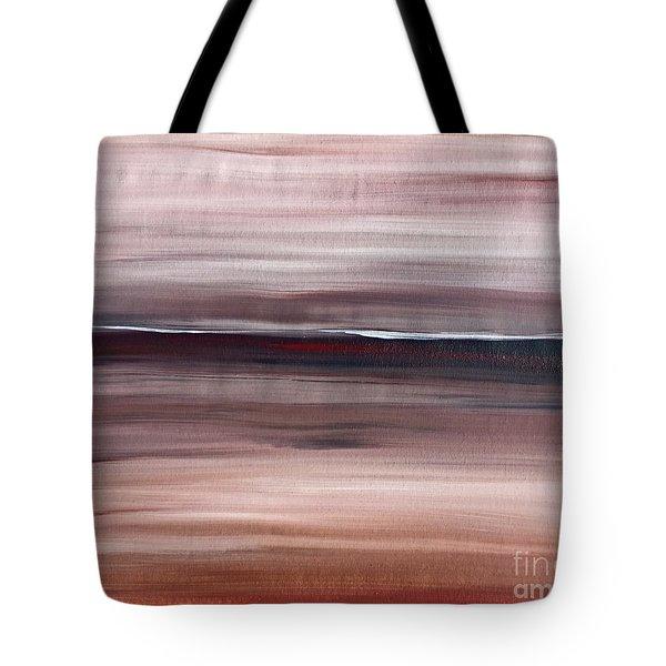 Malibu #33 Seascape Landscape Original Fine Art Acrylic On Canvas Tote Bag
