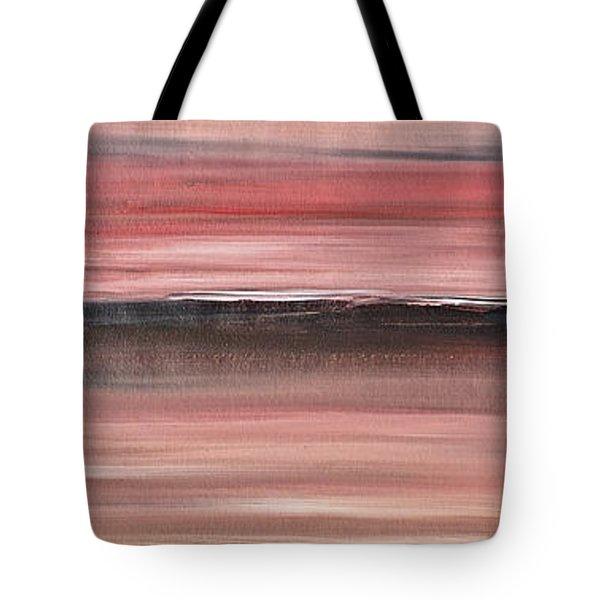 Malibu #34 Seascape Landscape Original Fine Art Acrylic On Canvas Tote Bag