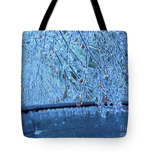 Malibu Icicles Tote Bag