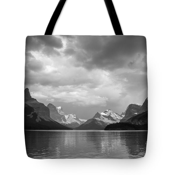 Maligne Lake Tote Bag by Chris Scroggins