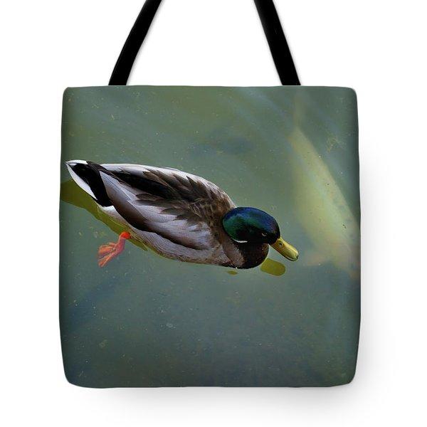 Mallard And Carp Tote Bag