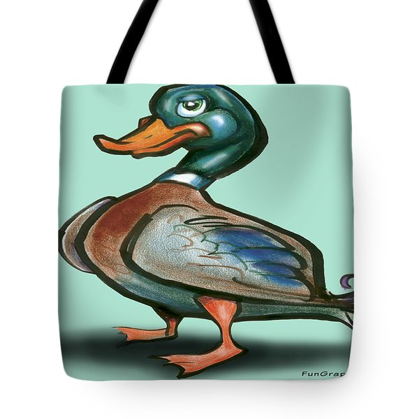 Mallard Duck Tote Bag by Kevin Middleton