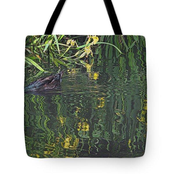 Mallard In The Marsh Tote Bag
