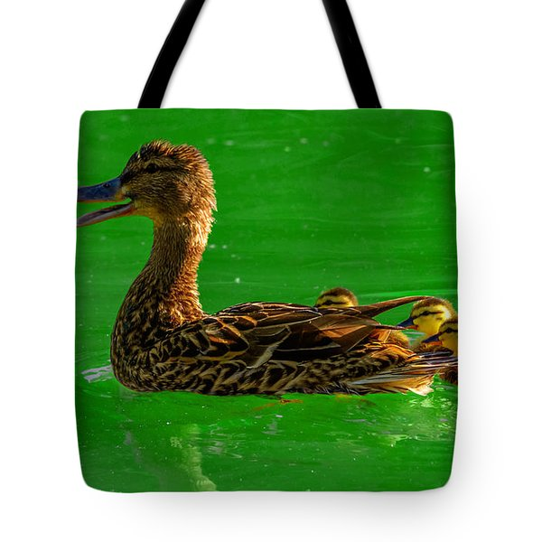 Mallard Mom 2 Tote Bag