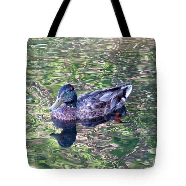 Mallard Monet Tote Bag