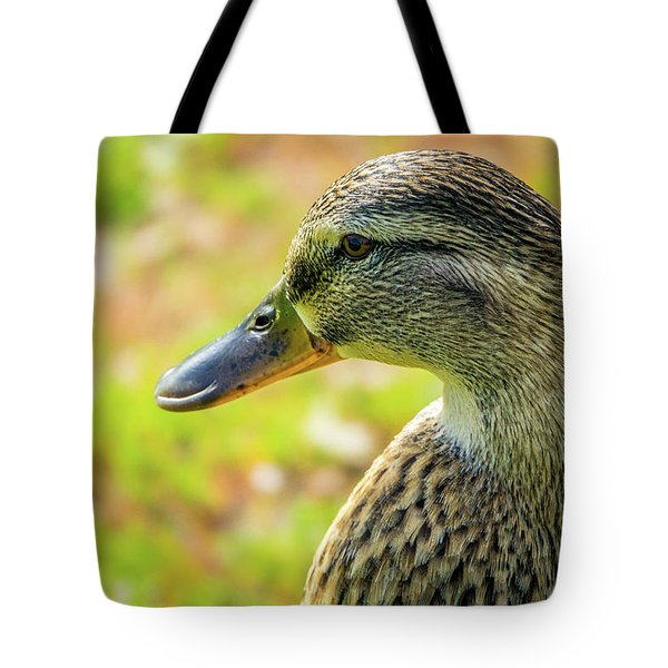 Mallard Portrait - Female Tote Bag