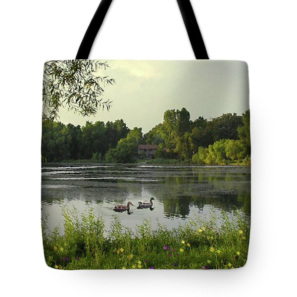 Mallards Lake II Tote Bag