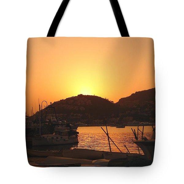 Tote Bag featuring the photograph Mallorca 1 by Ana Maria Edulescu