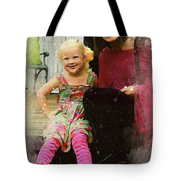 Mally And Mimi Tote Bag