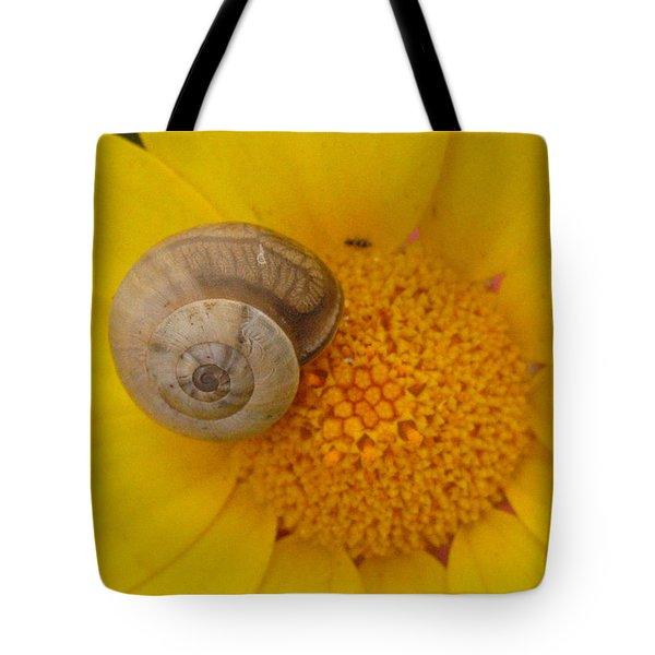 Malta Flower Tote Bag
