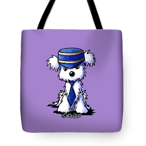 Maltese Conductor Tote Bag